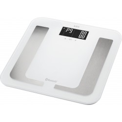 Waga łazienkowa 8w1 z funkcją Bluetooth AEG PW 5653 BT (biała)