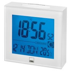 Zegar sterowany radiowo Clatronic FU 7025 (biały)