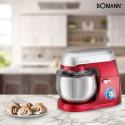 Robot kuchenny, mikser planetarny Bomann KM 6009 CB (czerwony)