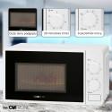 Kuchenka mikrofalowa z grillem Clatronic MWG 792 (biała)