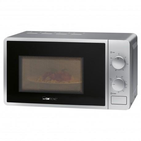 Kuchenka mikrofalowa z grillem Clatronic MWG 792 (srebrna)