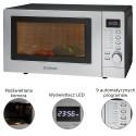 Kuchenka mikrofalowa z termoobiegiem i grillem Bomann MWG 2285 H CB