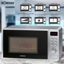 Mikrofalówka z grillem 2 w 1 Bomann MWG 6016 CB