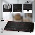 Podwójna indukcyjna płyta kuchenna Clatronic DKI 3609