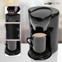 Ekspres przelewowy kawiarka na 1 filiżankę Clatronic KA 3356