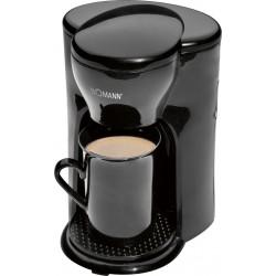 Przelewowy ekspres do kawy, kawiarka na jeden kubek Bomann KA 201 CB