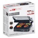 Grill elektryczny opiekacz składany Clatronic KG 3487