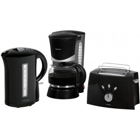 Zestaw śniadaniowy ekspres przelewowy, toster, czajnik elektryczny FS 1500 CB N
