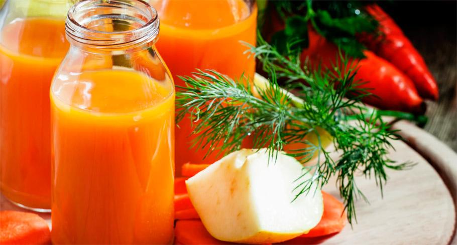 Energetyczny booster - sok z marchwi i pietruszki