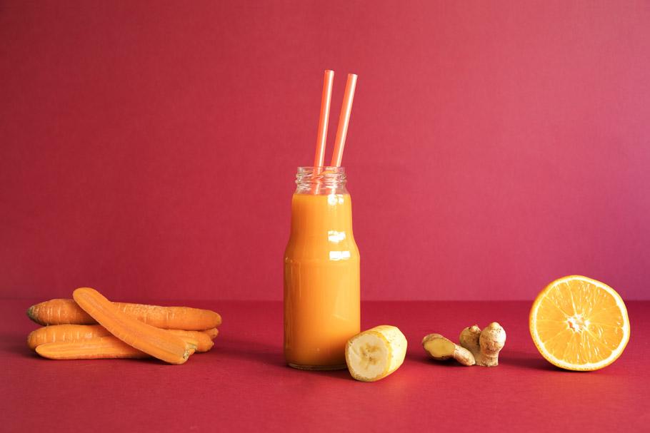 Energetyczny sok marchwiowy